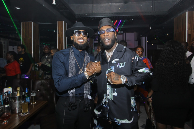 The birthday boy with music icon, D'banj [BukoHQ]