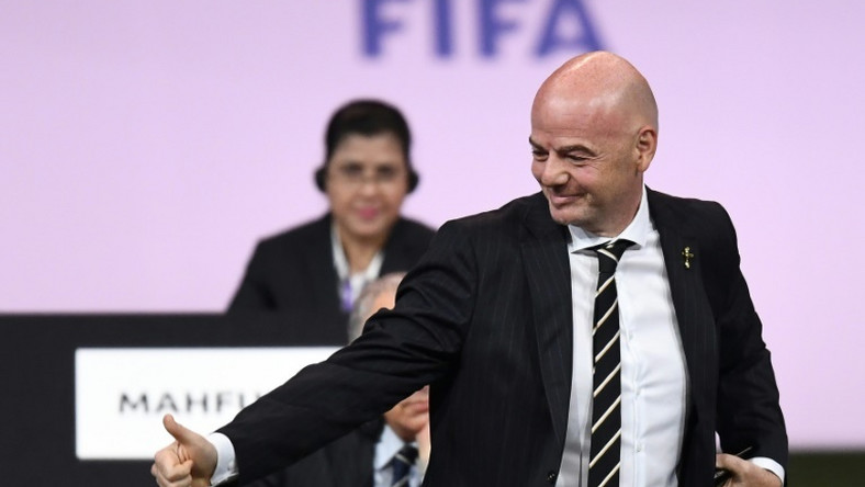 Gianni Infantino-led FIFA have sent an inspection team to Nigeria