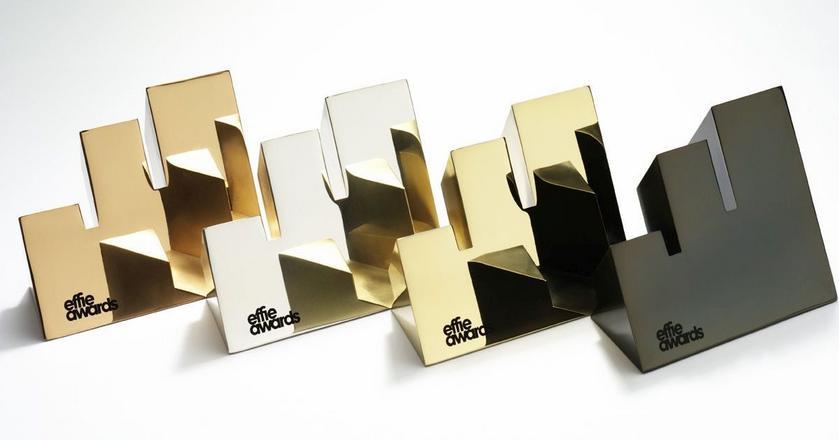 Takimi statuetkami są nagradzani laureaci Effie Awards