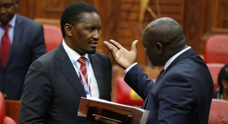 EACC grills former Agriculture CS Mwangi Kiunjuri over Sh1.8 billion maize scandal days after President Uhuru Kenyatta sacked him