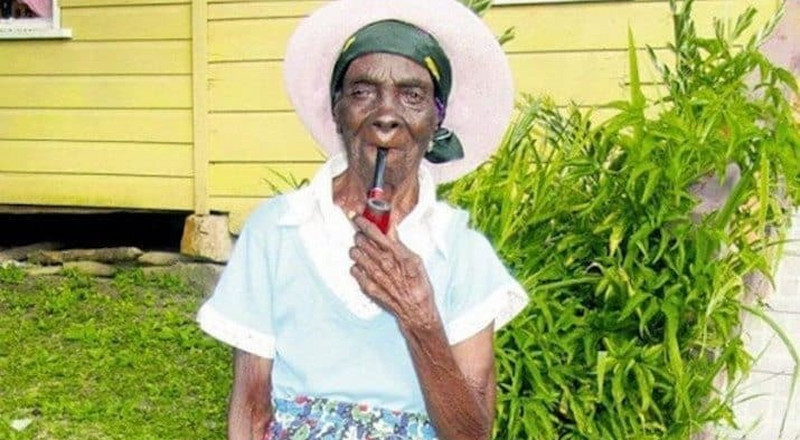 95-year-old Grandma says smoking weed is the 'recipe' for long life