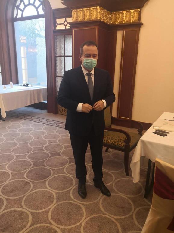 Dačić u Kini