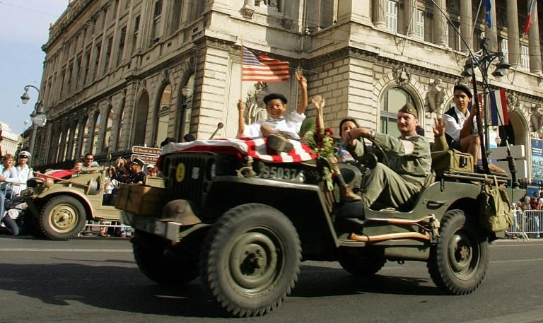 US jeeps were pressed into service in 2004 to celebrate the 60th anniversary of the liberation of Marseille, southern France, on August 29, 1944