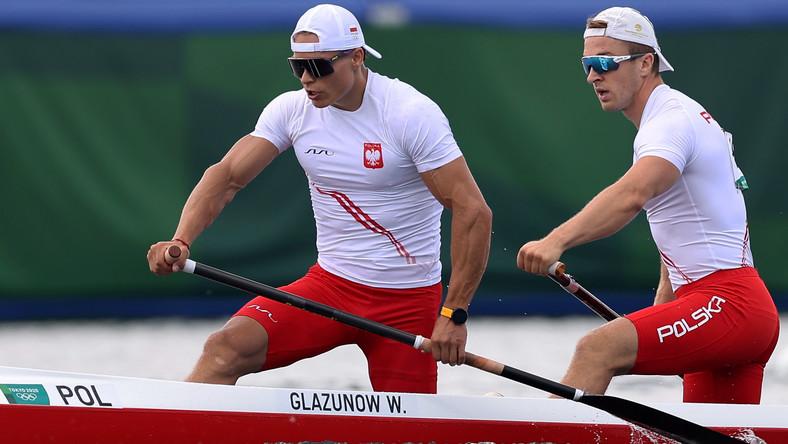 Wiktor Głazunow (L) i Tomasz Barniak (P)