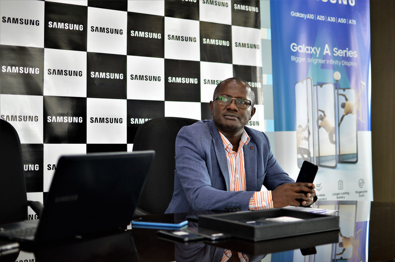 Charles Kimari, Samsung Electronics East Africa Head of Mobile division. (George Tubei)