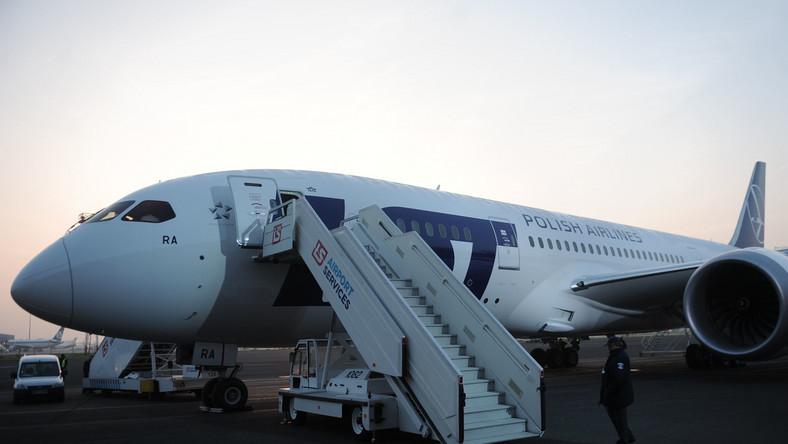 Ekspert: Dreamlinery nie powinny na razie latać