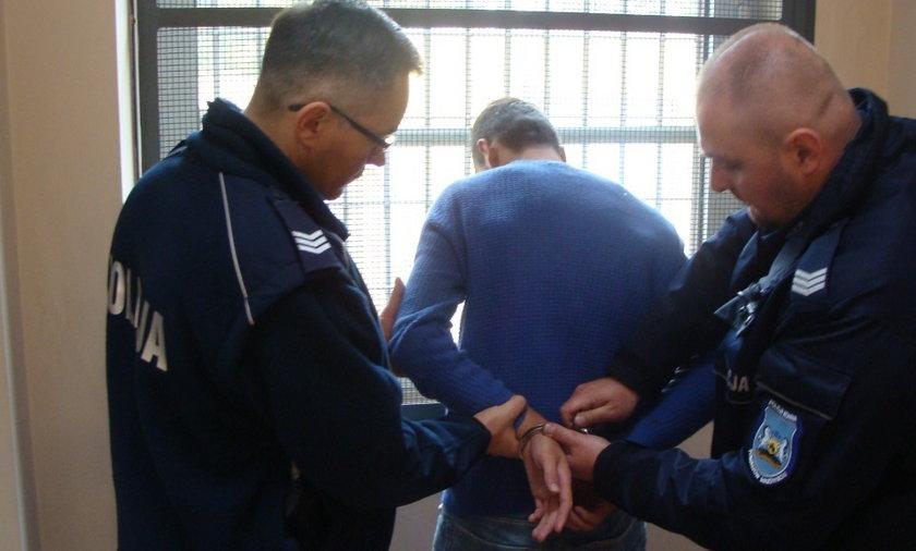 Zatrzymani dwaj Albańczycy, którzy napadli na bank