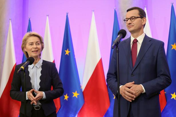 Ursula von der Leyen Mateusz Morawiecki
