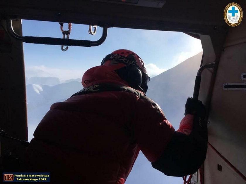 Turyści w Tatrach biwakowali przy -20 stopniach. Otarli się o śmierć