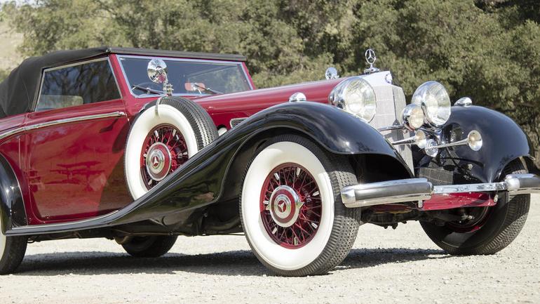Aukcja Mercedesów w Muzeum