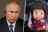 Maša kao Putin