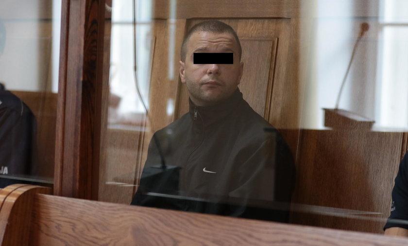 Sławomir M. przyjął wyrok ze spokojem