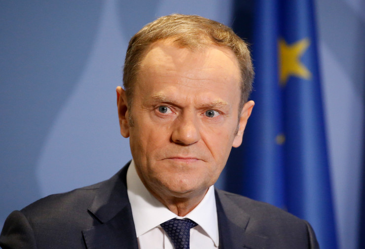 Donald Tusk, EPA - JULIEN WARNAND