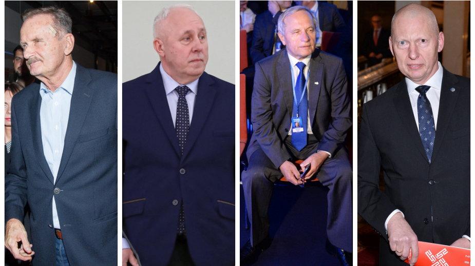 Gromosław Czempiński, Dariusz Łuczak, Stanisław Koziej i Mirosław Różański