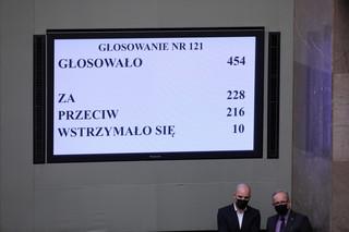 Głosowanie do skutku. PiS wystarczyło głosów na lex TVN