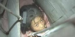 12-latka wpadła do komina i w nim utknęła!