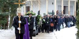 Pogrzeb muzyka Kombi. Foto