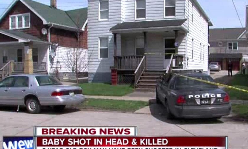 3-latek zastrzelił rocznego braciszka