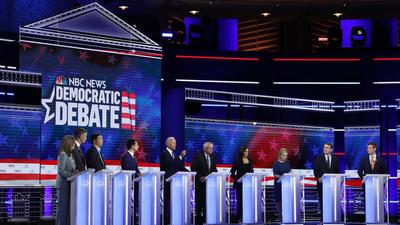 The 5 most interesting Google Trends from day 2 of the first 2020 Democratic debates
