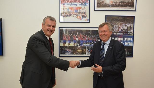 Božidar Đurković i Mihael Viderer
