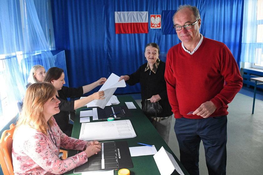 Wybory do Parlamentu Europejskiego. Politycy oddali już głos