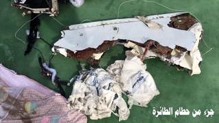 Opublikowano pierwsze zdjęcia odnalezionych szczątków egipskiego airbusa