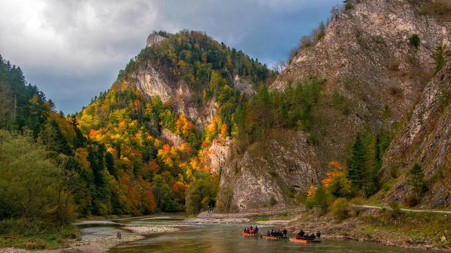 Spływ Dunajcem wybrało w tym sezonie 30 proc. mniej turystów