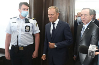 'Wprost': Tusk zażądał, by Grodzki zrzekł się immunitetu