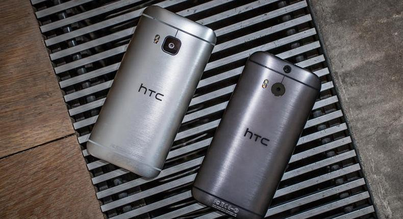 HTC One M8 and M9