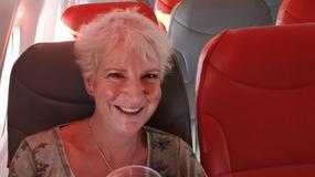 Szkocka pisarka była jedyną pasażerką lotu na Kretę