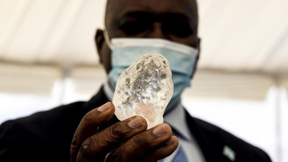 Botswana: znaleziono prawdopodobnie trzeci co do wielkości diament na świecie