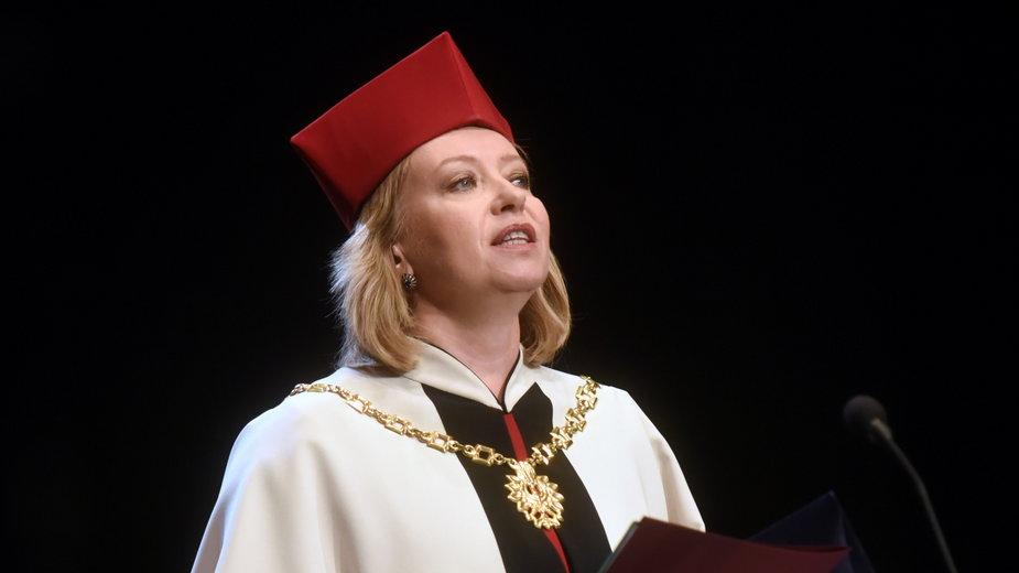 Dorota Segda, rektor Akademii Sztuk Teatralnych w Krakowie