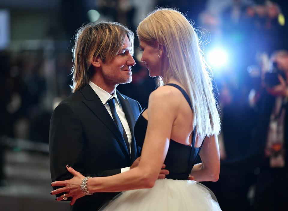 Nicole Kidman z mężem, Keithem Urbanem