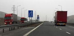 Wpuścili ciężarówki na autostradę w Tarnowie