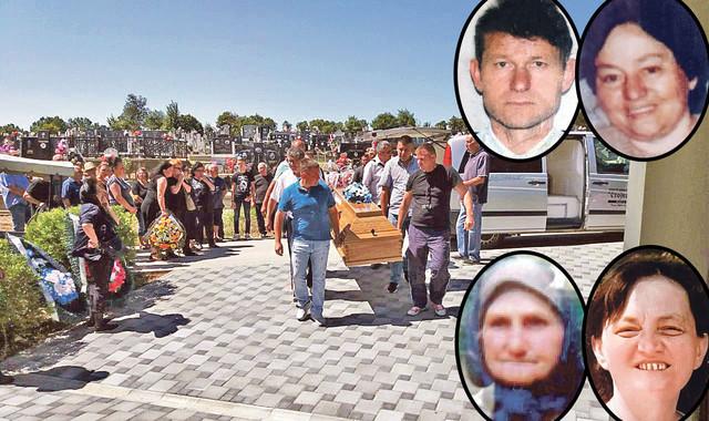 Jabukovac, sahrana žrtava
