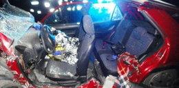 Poważny wypadek pod Nowym Sączem. Wśród rannych 20-latka i kobieta w zaawansowanej ciąży
