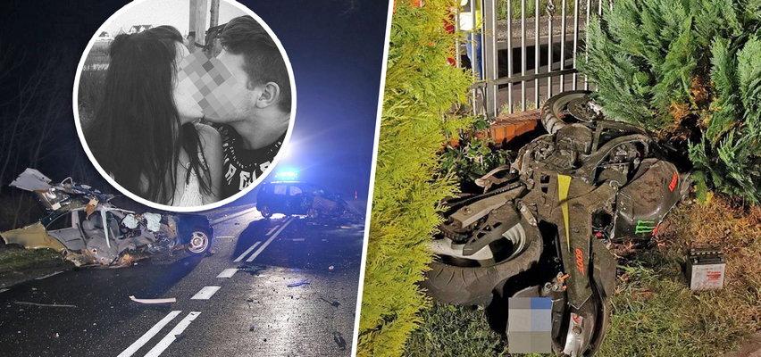 21-latek zginął na motorze. Wcześniej spowodował wypadek, w którym zginęła 16-letnia Malwina?