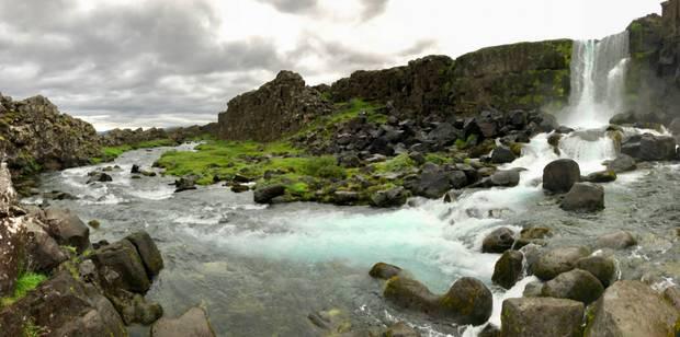 Nádherný Island.