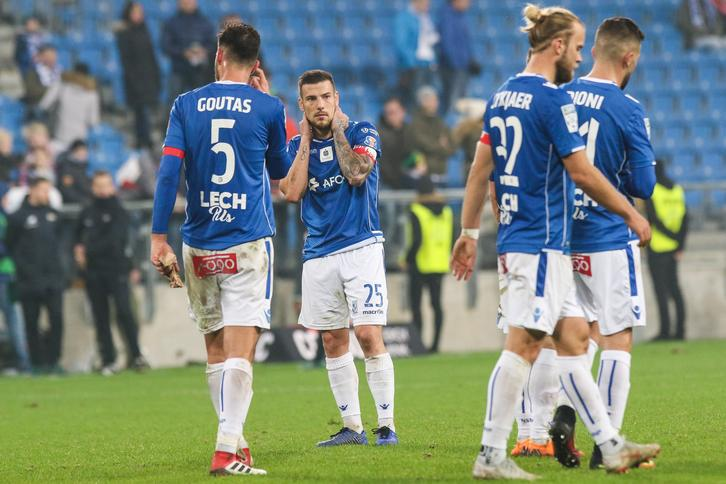 Lech Poznan - Lechia Gdansk , pilka nozna , Lotto Ekstraklasa , Polish Football Extraleague