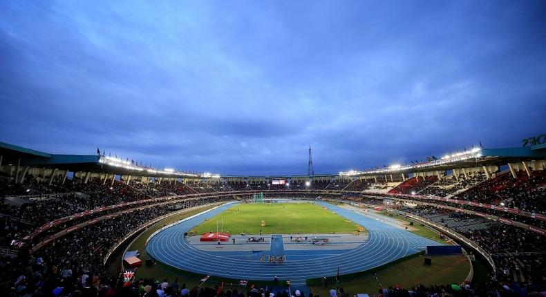 NAIROBI, KENYA - JULY 15: A general view on day four of the IAAF U18 World Championships at the Kasarani Stadium on July 15, 2017 in Nairobi, Kenya. (Photo by Stephen Pond/Getty Images for IAAF)
