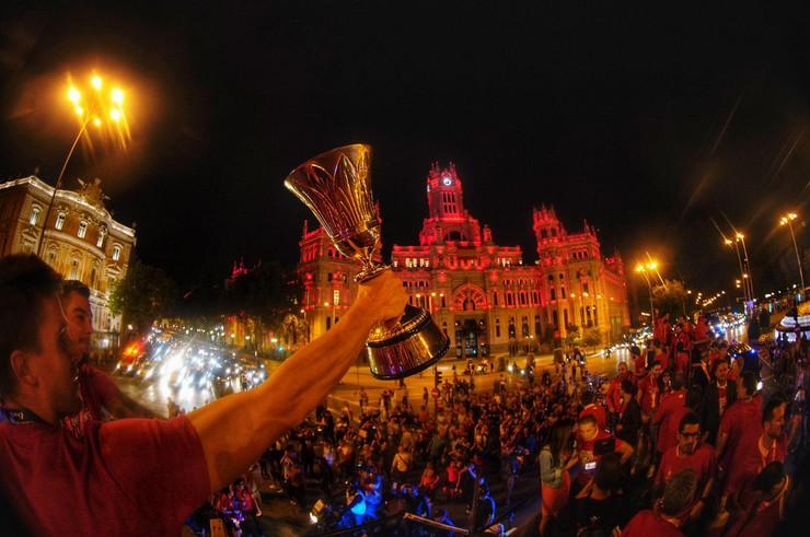 Svetski šampioni slave titulu u Madridu