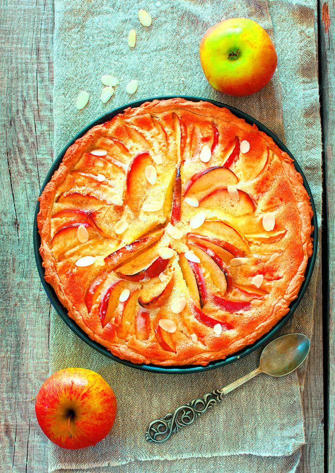 Savršeno sočna pita sa jabukama