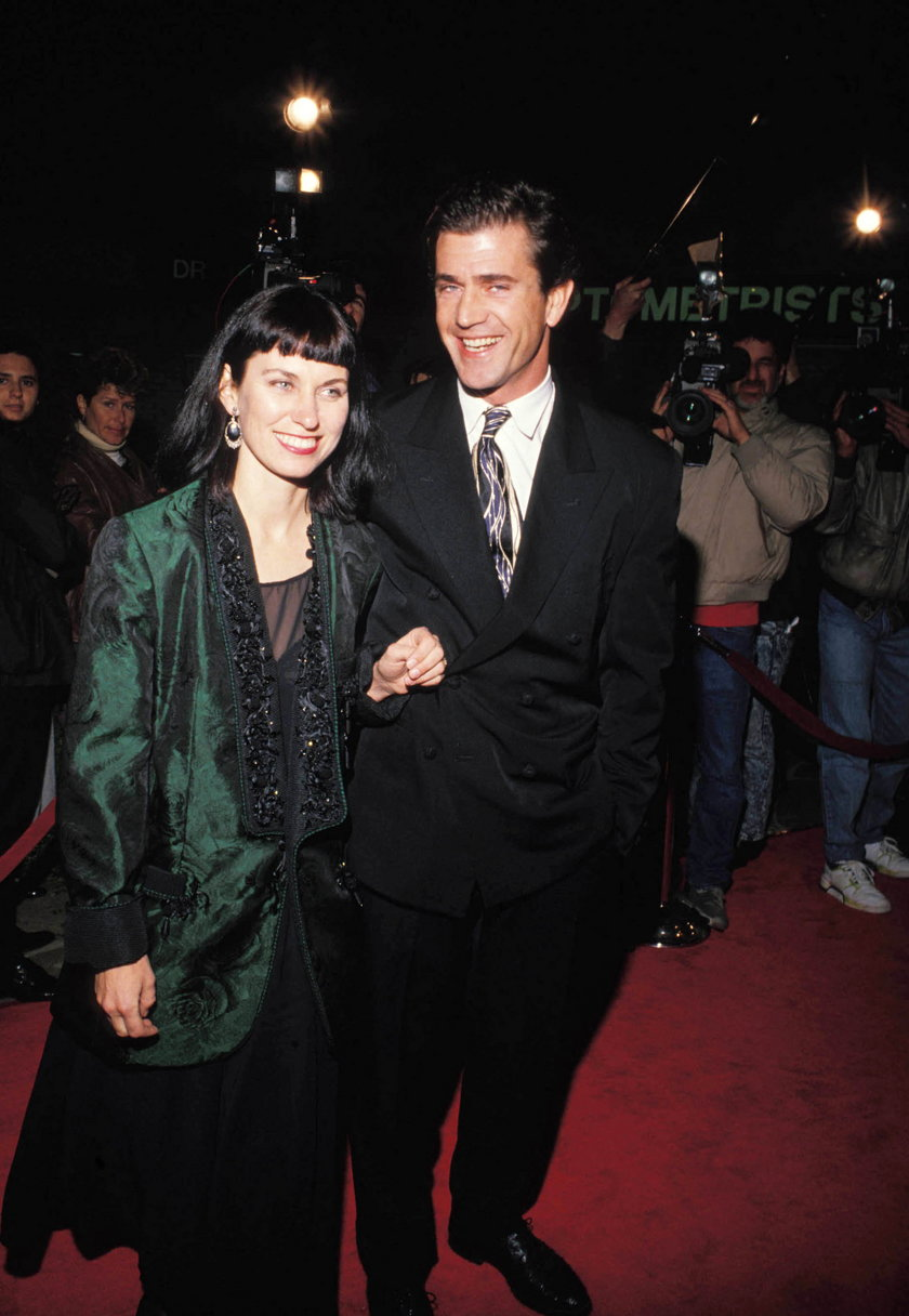 Mel Gibson i Robyn Moore Gibson