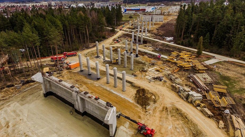 Budowa nowej zakopianki na odcinku Rdzawka - Nowy Targ
