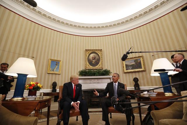 """Tramp u Ovalnom kabinetu: """"Nikada ranije se nisam susreo sa predsednikom Obamom"""""""
