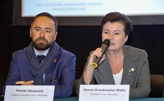 Sasin: Hanna Gronkiewicz-Waltz jest świadomie bezczynna ws. pomników smoleńskich