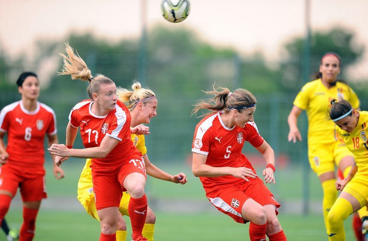 Ženska fudbalska reprezentacija Srbije, Ženska fudbalska reprezentacija Rumunije