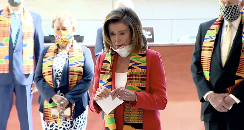 Ghana To The World: Democrats observe George Floyd's memorial with Kente