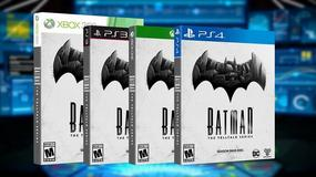Batman - The Telltale Series z datą premiery pierwszego odcinka i wersji pudełkowej