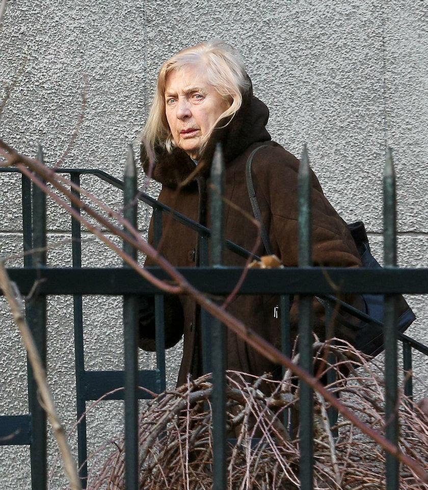Kiszczakowa została okradziona